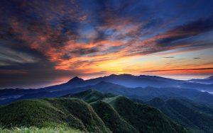 Фотосъемка горного пейзажа